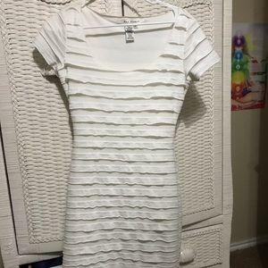 Max Studio white dress